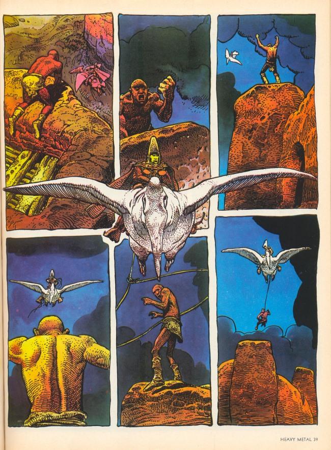 Moebius. 'Arzach' 1977