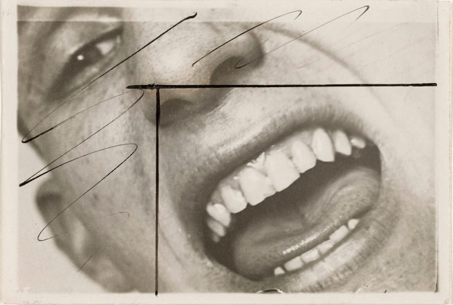 Unknown maker (German) 'Close-up of Open Mouth of Male Student' c. 1927