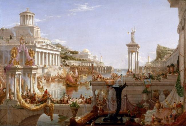 Thomas Cole (1801-1848) 'The Consummation of Empire' 1836