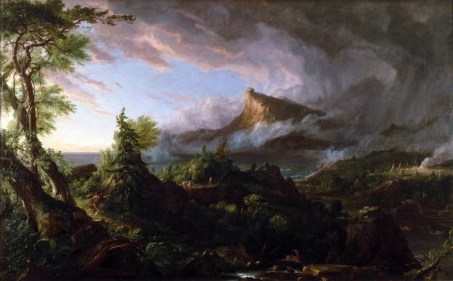 Thomas Cole (1801-1848) 'The Savage State' 1834