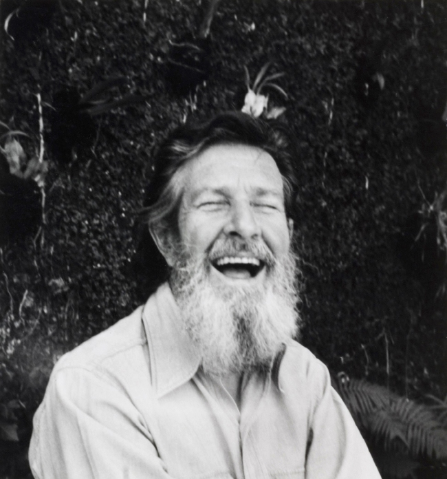 Dorothy Norman (American, 1905-1997) 'John Cage' 1970s