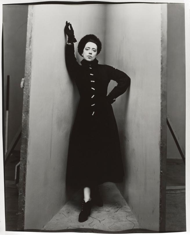 Irving Penn(American, 1917-2009) 'Elsa Schiaparelli' 1948 (negative), c. 1948 (print)