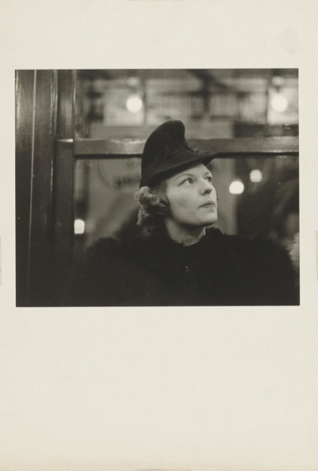 Walker Evans (American, 1903-1975) 'Subway Portrait' 1938-41