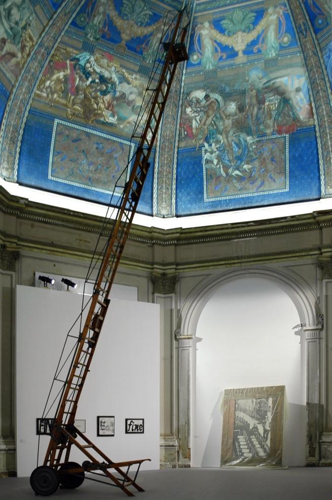Fabio Mauri (Italian, 1926-2009) 'Macchina per fissare acquerelli [Machine for fixing watercolours]' 2007