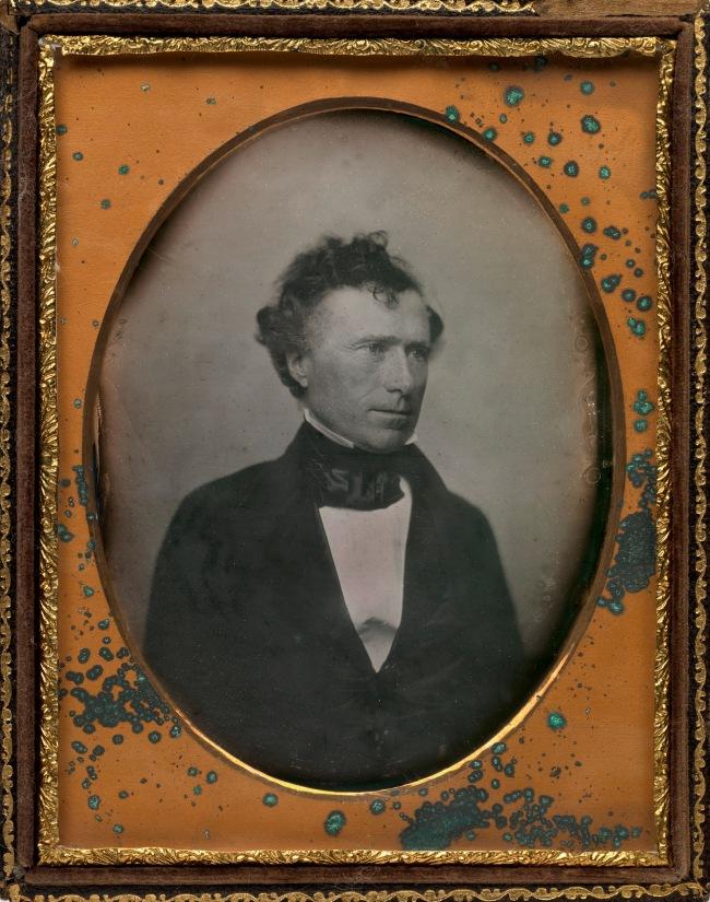 Southworth & Hawes (American, active 1843-1862) 'Franklin Pierce' (23 Nov 1804-8 Oct 1869) c. 1852