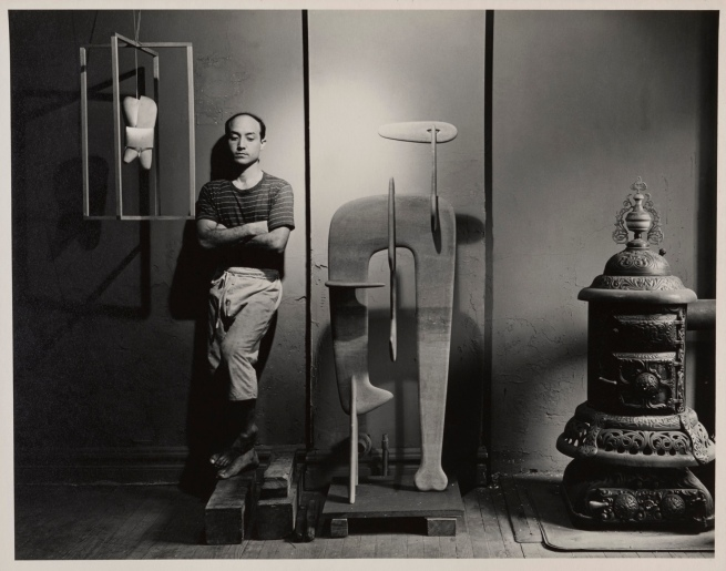 Arnold Newman(American, 1918-2006) 'Isamu Noguchi' c. 1941-1945