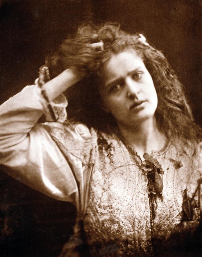 Julia Margaret Cameron (British, 1815-1879) 'Ophelia' Negative 1875; print, 1900
