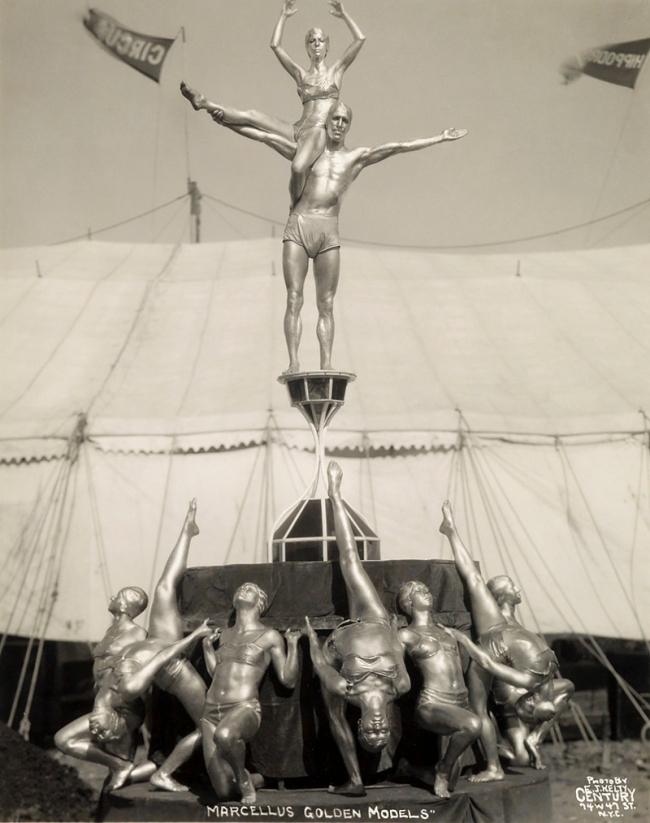 Edward Kelty (1888-1967) 'Marcellus Golden Models' 1933