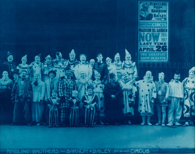 Edward Kelty (1888-1967) 'Ringling Brothers and Barnum & Bailey (Combined) Circus' c. 1925
