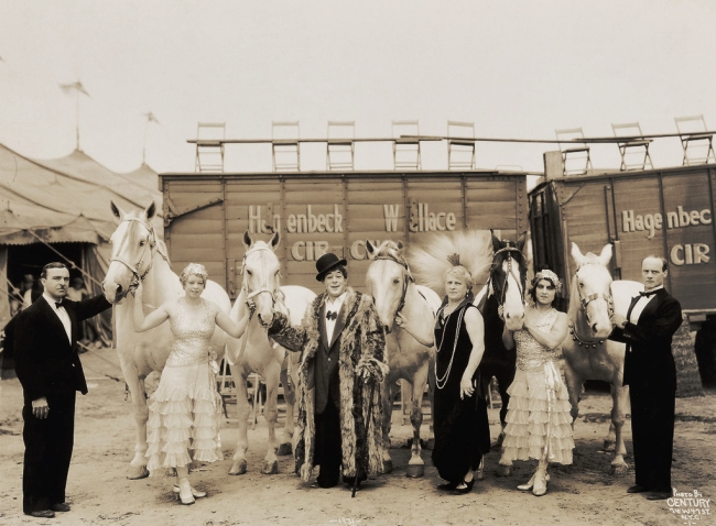 Edward Kelty (1888-1967) 'Hagenbeck-Wallace Circus' 1931