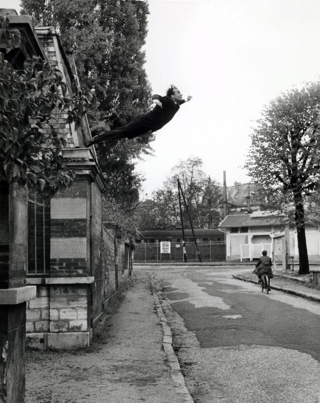 Yves Klein. 'Leap into the Void' 1960