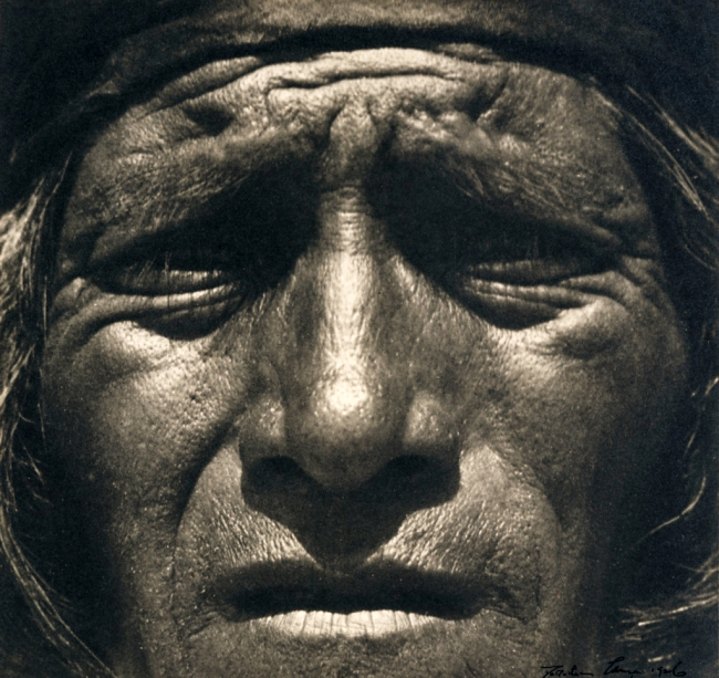 Dorothea Lange (United States 1895-1965) 'Hopi Indian, New Mexico' Negative, c. 1923; print, 1926