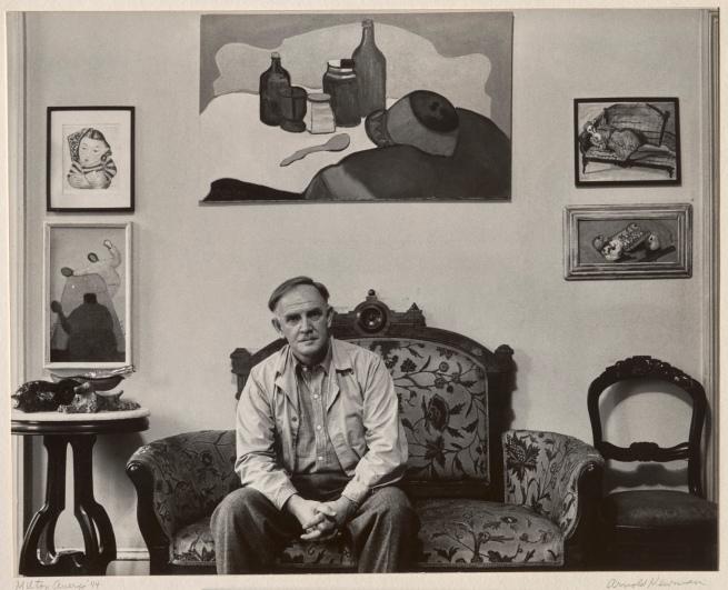 Arnold Newman(1918-2006) 'Milton Avery' 1944
