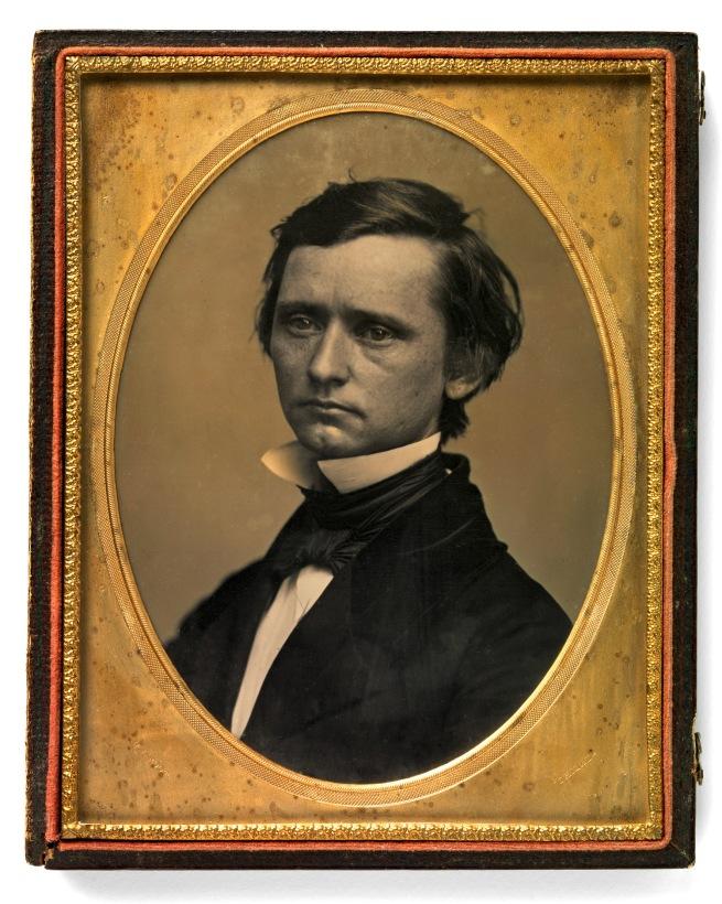 Marcus Aurelius Root (American, 1808-1888) 'Thomas Buchanan Read'(March 12, 1822-May 11, 1872) c. 1850