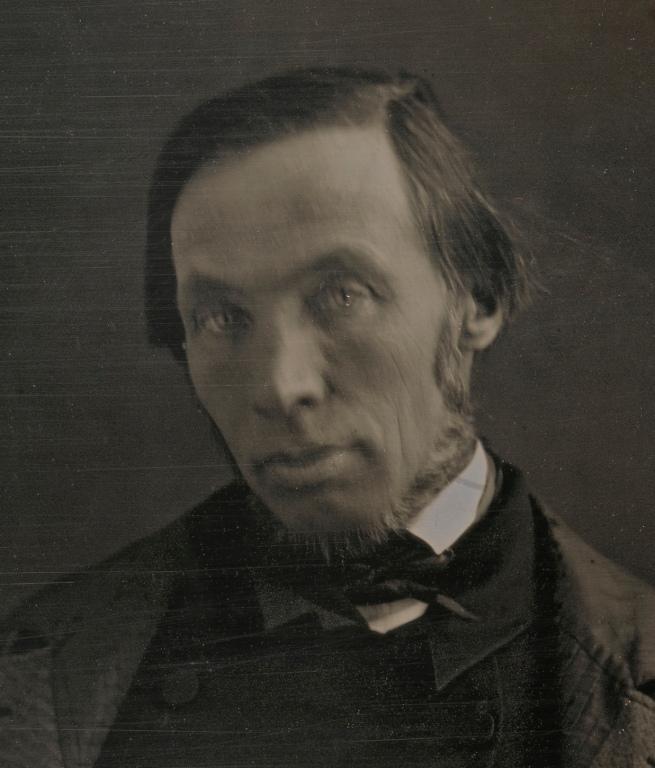 Unidentified artist (American) 'Robert Dale Owen' c. 1847 (detail)