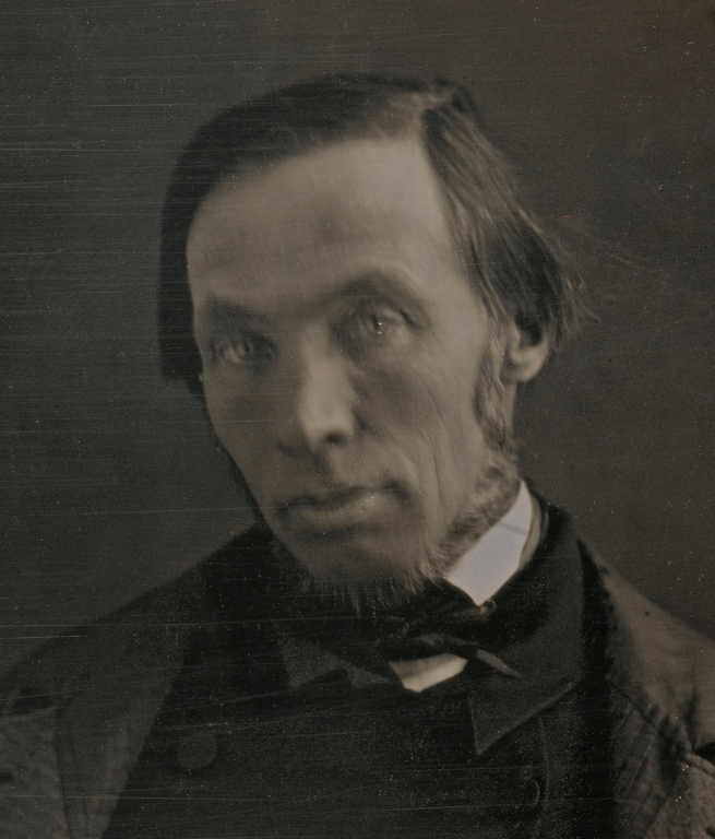 Unidentified artist (American) 'Robert Dale Owen' c. 1847 (detail)