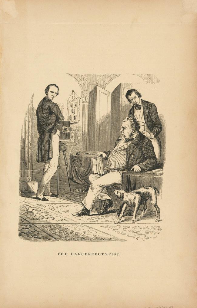 Unidentified artist (American) 'The Daguerreotypist' 1849