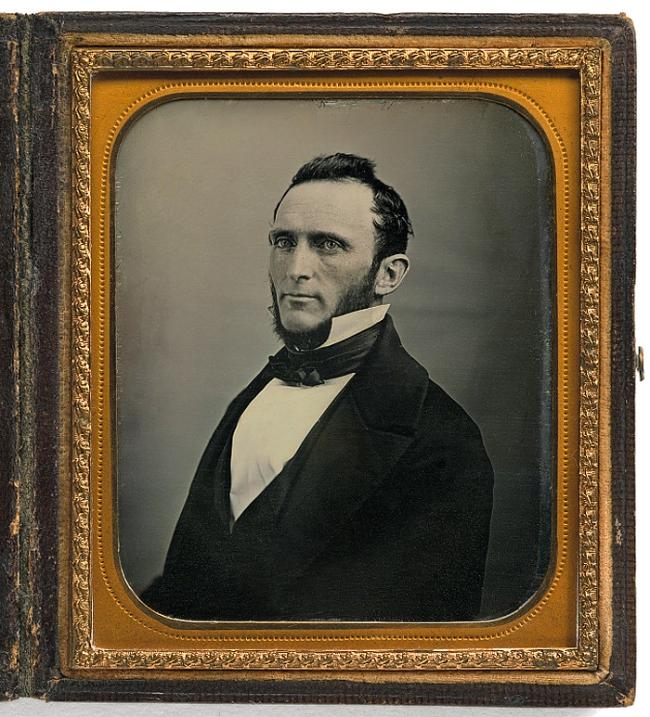 Henry B. Hull (American, active c. 1855) 'Stonewall Jackson' (Thomas Jonathan Jackson, 21 Jan 1824-10 May 1863) 1855