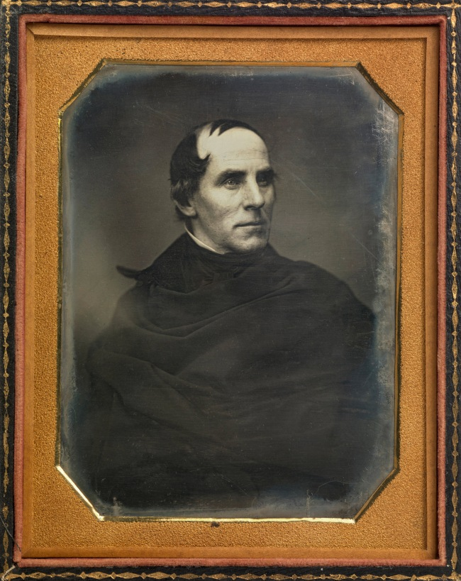 Mathew B. Brady (American, 1823? - 15 Jan 1896) 'Thomas Cole' (1 Feb 1801 - 11 Feb 1848) c. 1845