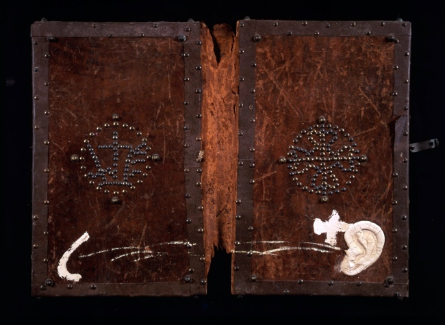 Antoni Tàpies. 'Book covers' 1987