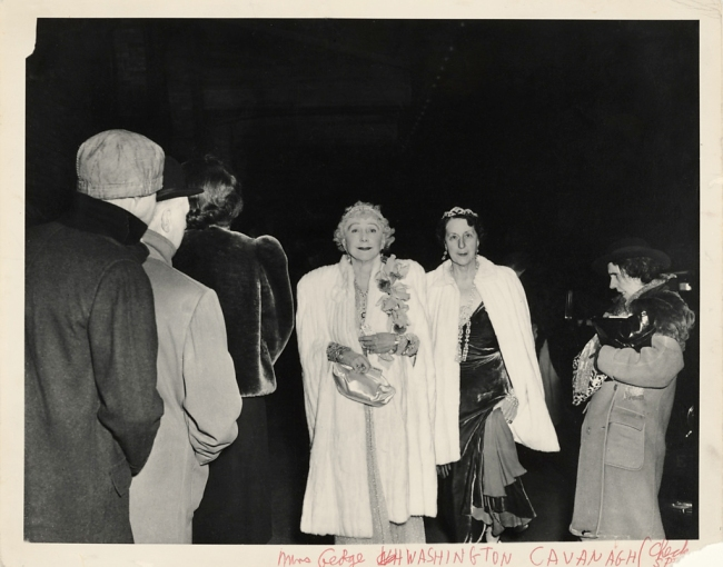 Weegee (Arthur Fellig) (1899-1968) 'The Critic' November 1943