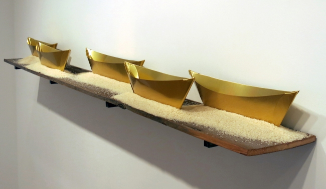 Wolfgang Laib. 'Passageway' 2013