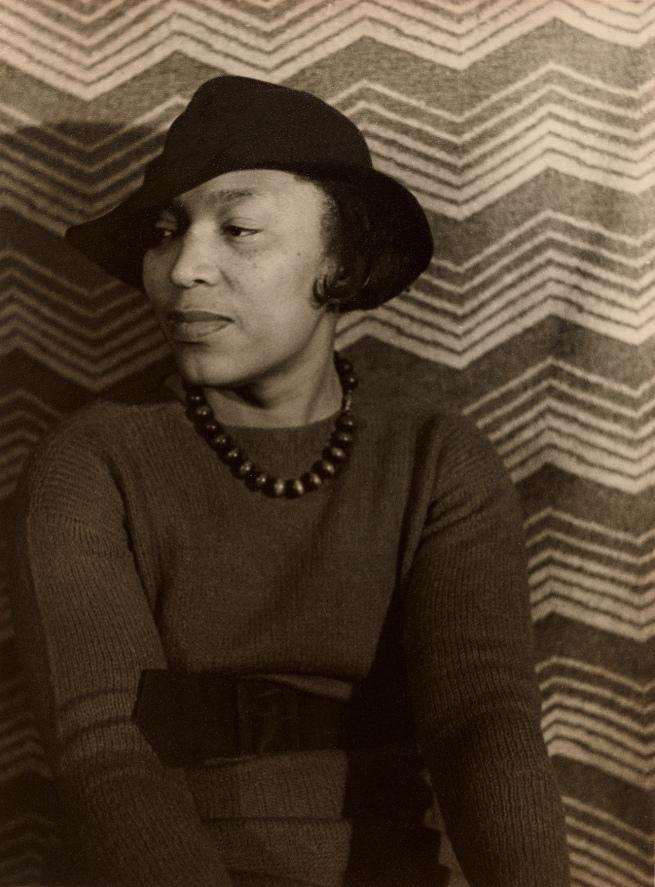 Carl Van Vechten (American, 1880-1964) 'Zora Neale Hurston' April 3, 1935