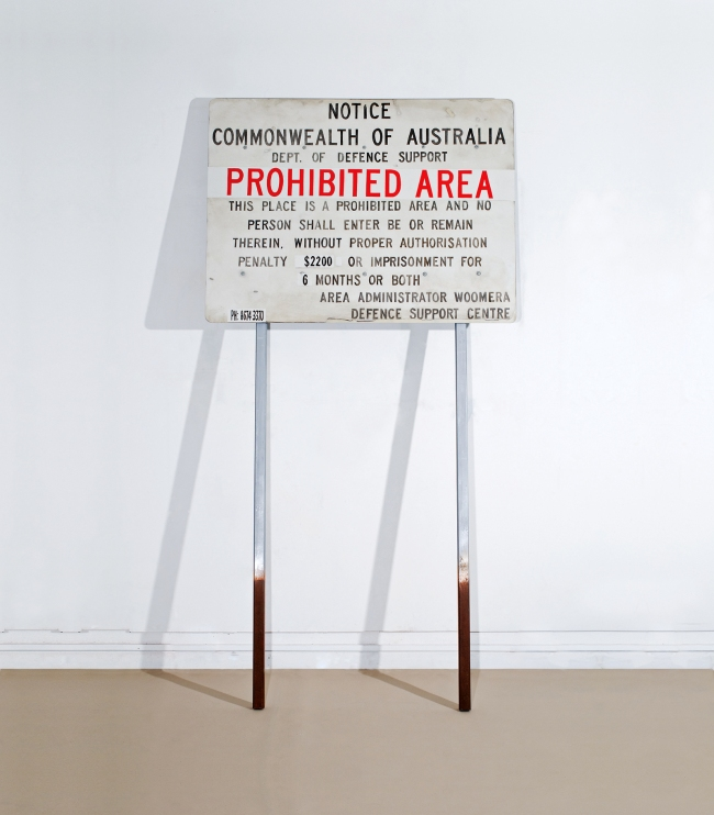Adam Norton. 'Prohibited Area' 2010
