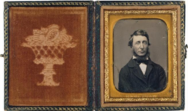Benjamin D. Maxham (American, ) 'Henry David Thoreau' 1856