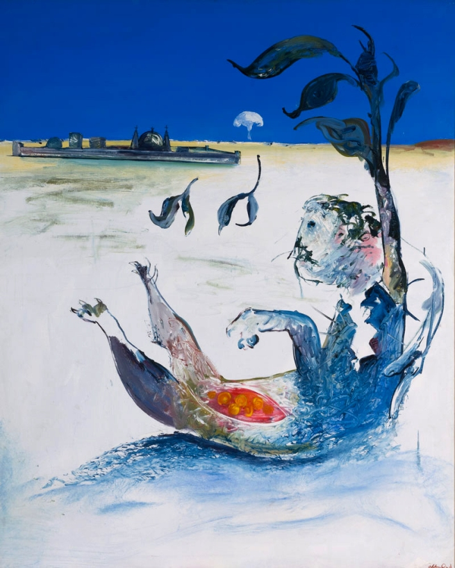 Arthur Boyd. 'Jonah on the Shoalhaven Outside the City' 1976