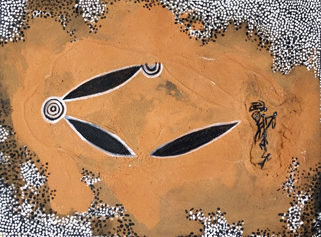 Jonathan Kumintjarra Brown. 'Maralinga Atomic Test Dust Storm and Old Sites Significance' 1996