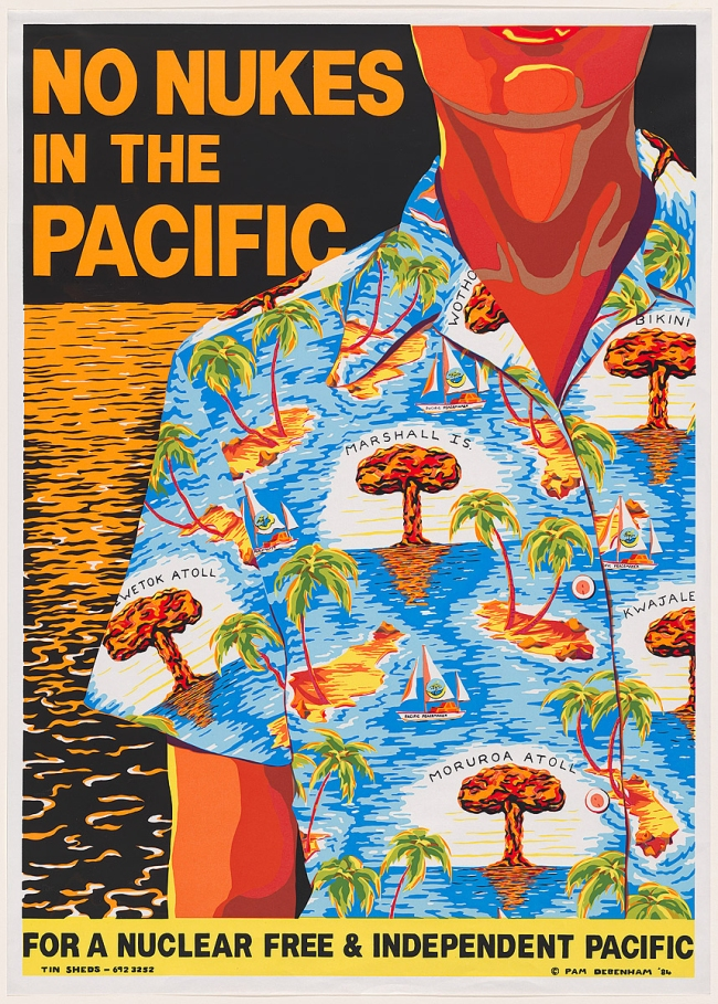 Pam Debenham. 'No nukes in the Pacific' 1984