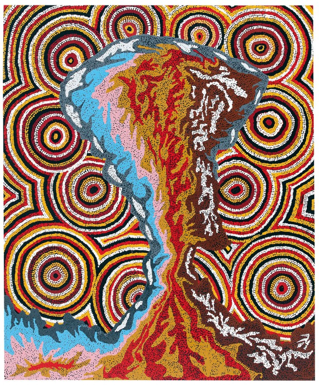 Hilda Moodoo and Jeffrey Quema. 'Destruction II' 2002