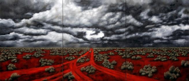 Karen Standke. 'Road to Maralinga II' 2007