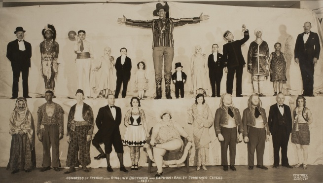 Edward J. Kelty (1888-1967) 'Congress of Freaks with Ringling Brothers and Barnum & Bailey Combined Circus' 1931
