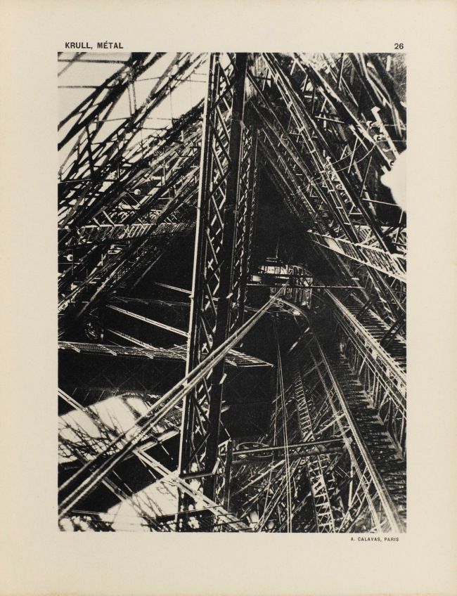 Germaine Krull (1897-1985) Image from the portfolio 'MÉTAL' 1928