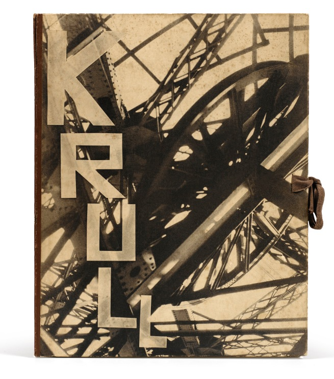 Germaine Krull (photographer) Cover design by M. Tchimoukow. 'MÉTAL' cover 1928