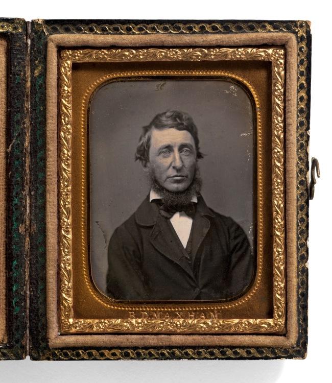 Benjamin D. Maxham (American, active 1848-1858) 'Henry David Thoreau' (July 12, 1817-May 6, 1862) 1856