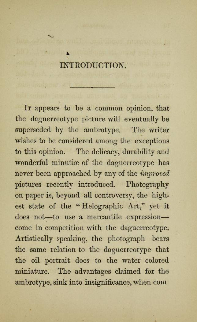 Montgomery P. Simons (American, 1817-1877) 'Photography in a nut shell' 1858