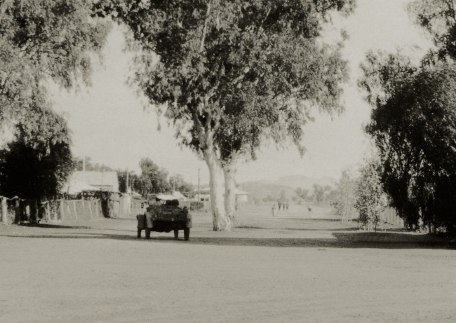 Anonymous photographer. 'Alice Springs' c. 1930 (detail)