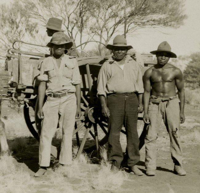 Anonymous photographer. 'Cardawan Station, central Western Australia' c. 1950 (detail)