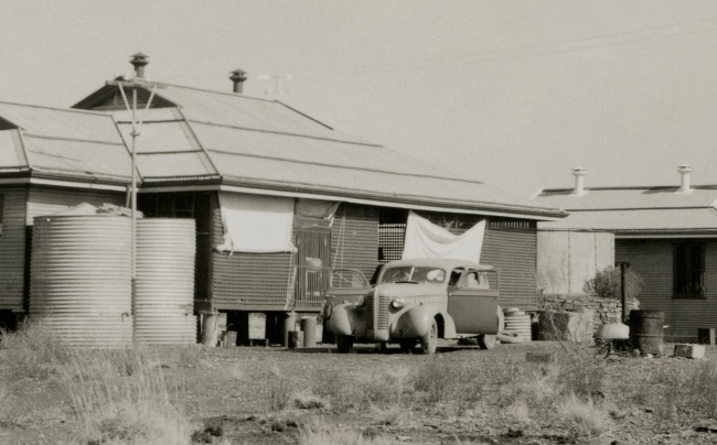 Anonymous photographer. 'Mundiwindi Station, Pilbara region of Western Australia' c. 1950 (detail)