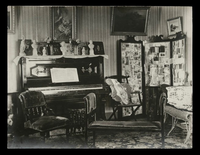 Anonymous photographer. 'Parlour, Broken Hill, New South Wales' 1895