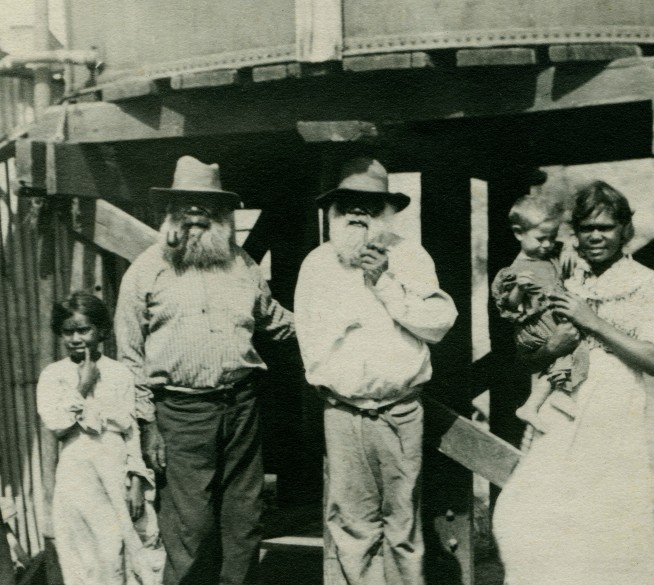 Anonymous photographer. Poolamacca Station, north of Broken Hill, New South Wales' c. 1910 (detail)