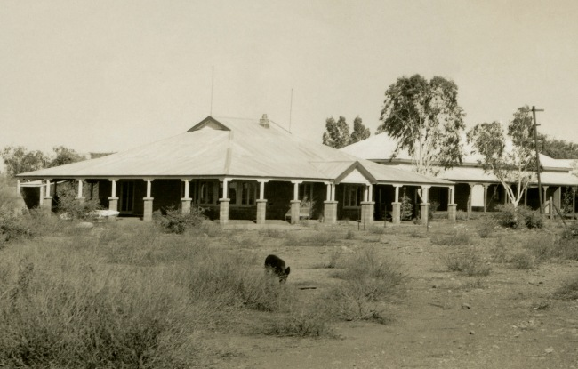 Anonymous photographer. 'Roy Hill Homestead, Pilbara region of Western Australia' c. 1950 (detail)