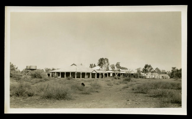 Anonymous photographer. 'Roy Hill Homestead, Pilbara region of Western Australia' c. 1950
