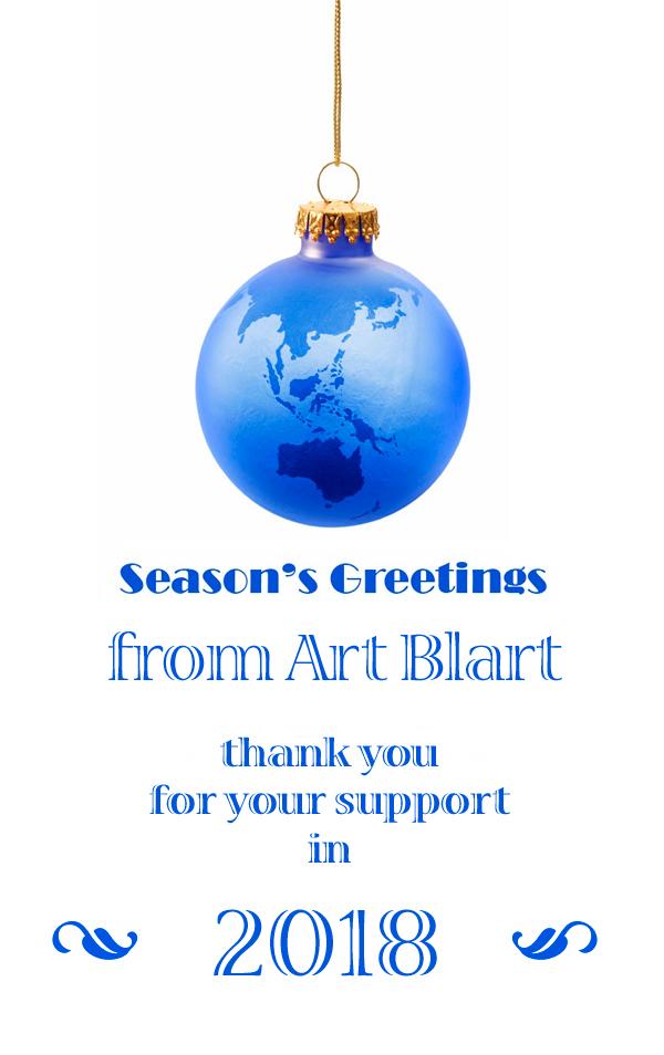 Art Blart Christmas 2018