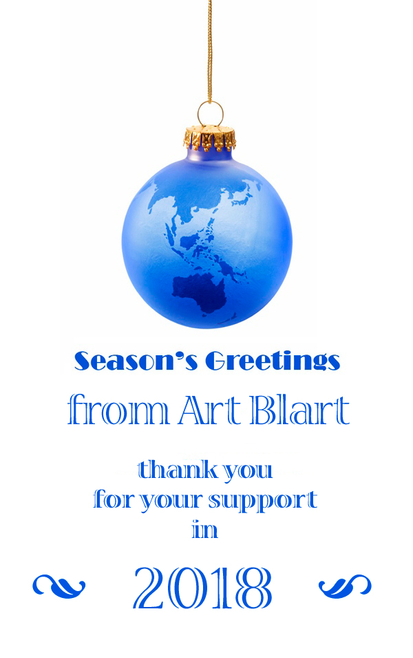 Art Blart Christmas 2018