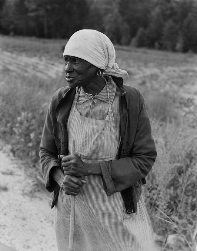 Dorothea Lange (1895-1966) 'Ancienne esclave à la longue mémoire, Alabama' 'Former slave with a long memory, Alabama' 1938