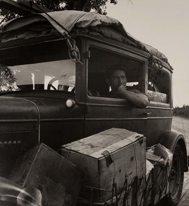 Dorothea Lange (1895-1966) 'Cars on the Road' 1936
